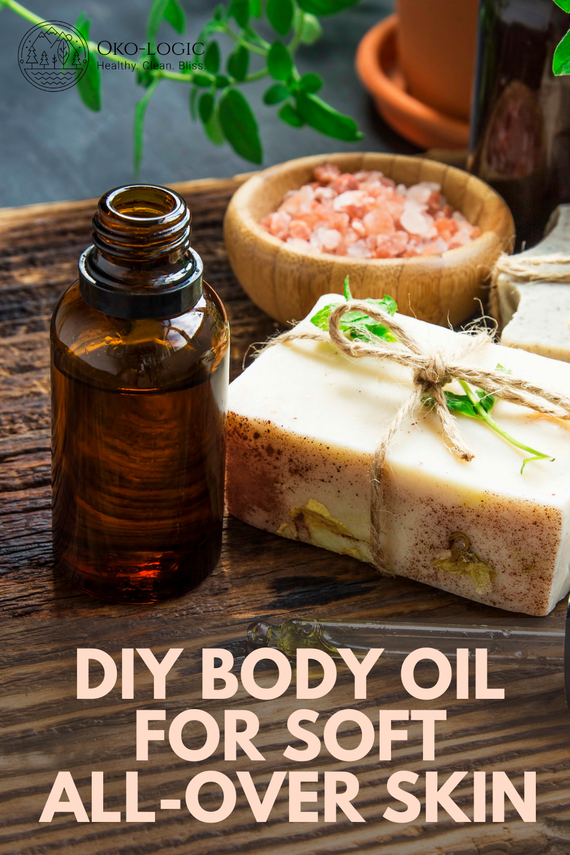 Body Oil Recipe to Combat Dry Skin
