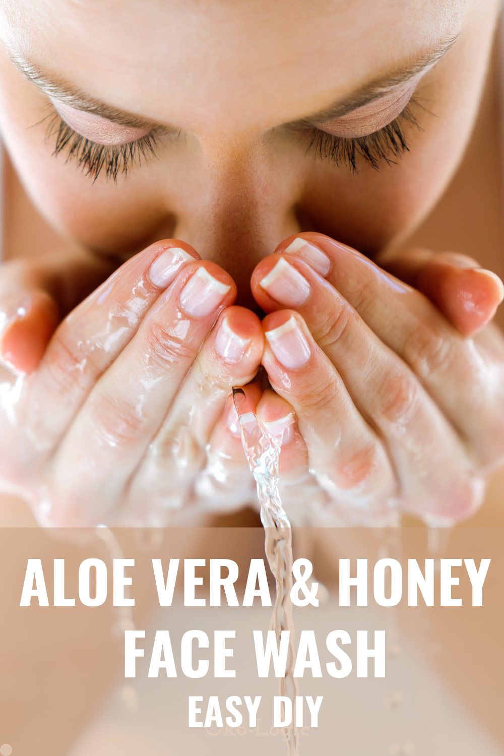 Easy Aloe Vera Face Wash With Raw Honey and Hemp Seed Oil