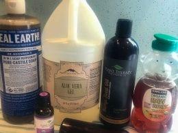 aloe vera face wash ingredients