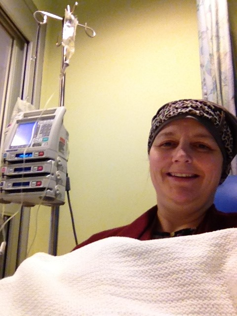 Tricia on chemo