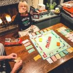 playing monopoly during quarantine