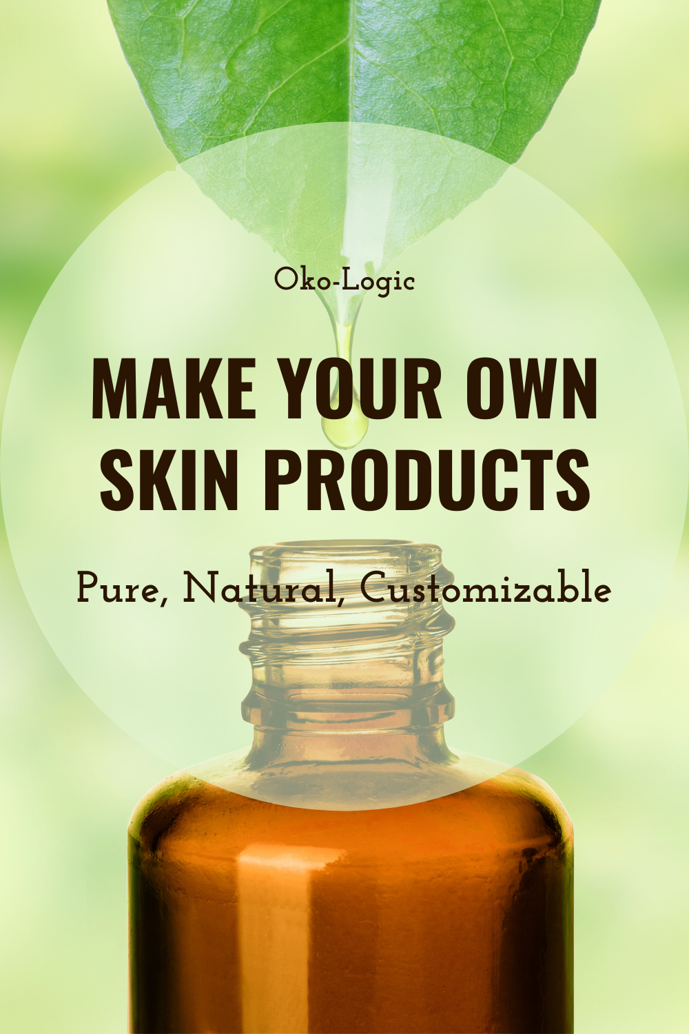 Looking for Effective Skin Therapy? Make Your Own Products