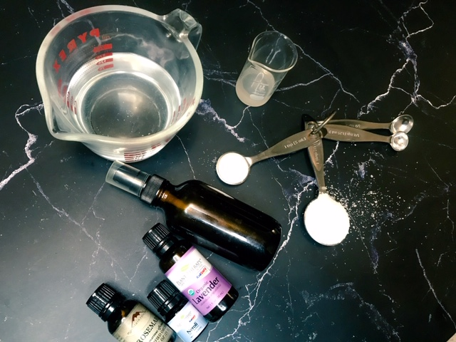 Seat Salt Hair Spray DIY Ingredients