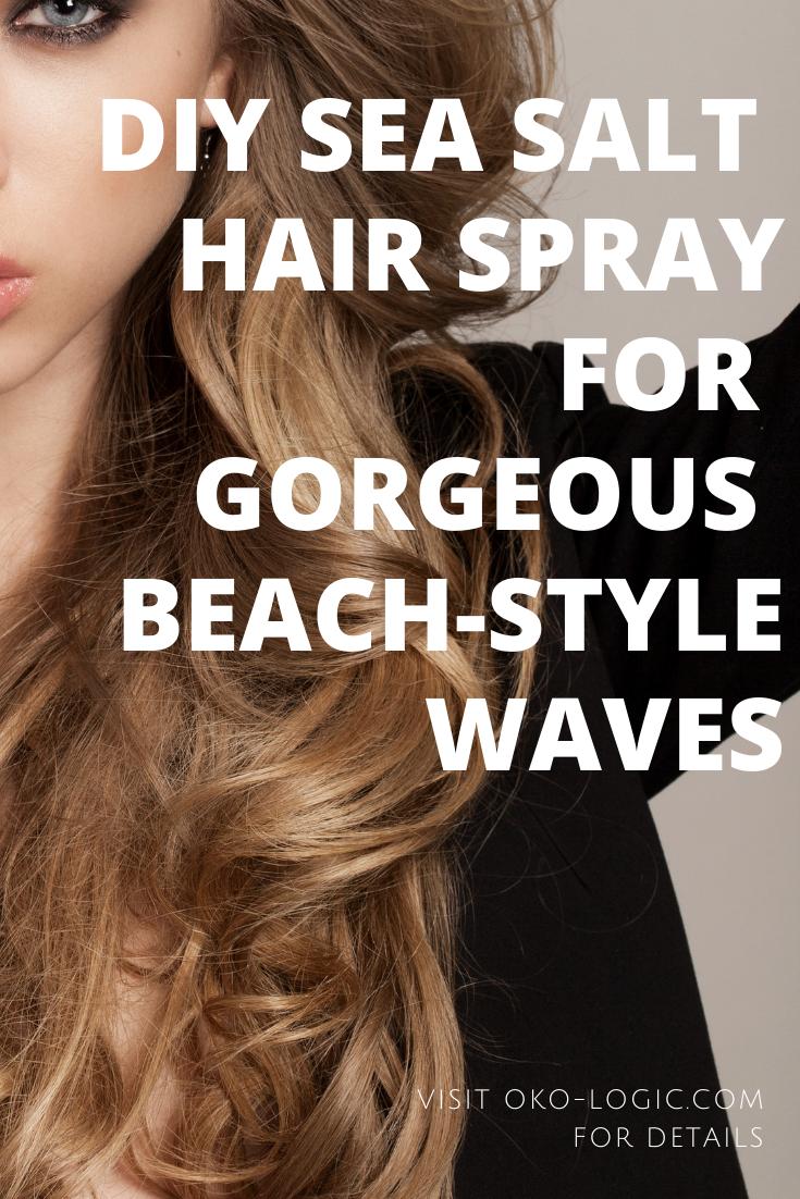 Easy Sea Salt Hair Spray DIY For a Summer Beach Look