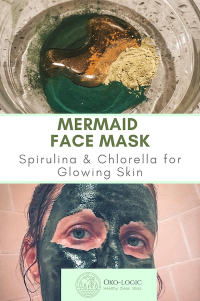 Easy Spirulina Face Mask To Make Your Skin Glow In No Time
