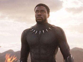 Chadwick Boseman in Wakanda