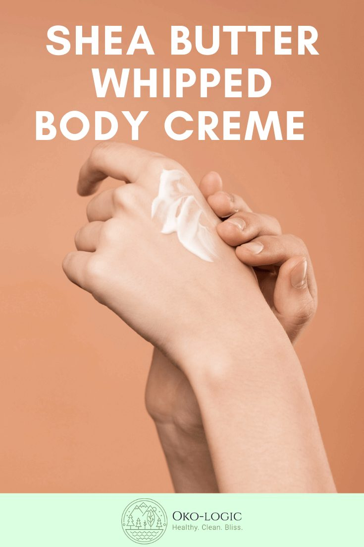 4 Ingredients Soft Non-Greasy Shea Butter and Coconut Oil Body Crème