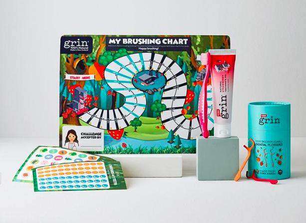 natural oral care starter kit for kids