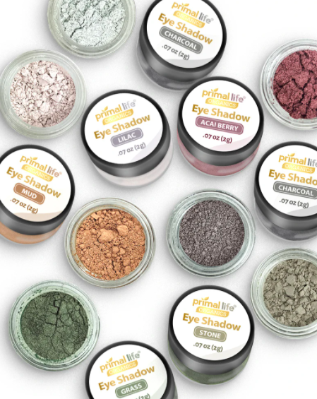 non-toxic eye shadow from Primal Life Organics