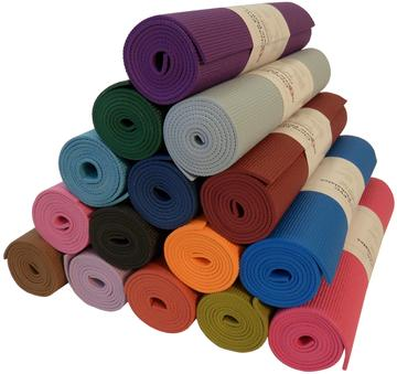 natural fabric yoga mats are a perfect self care gift