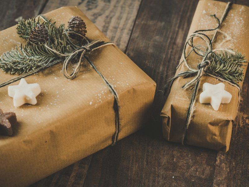 self care gifts under tree