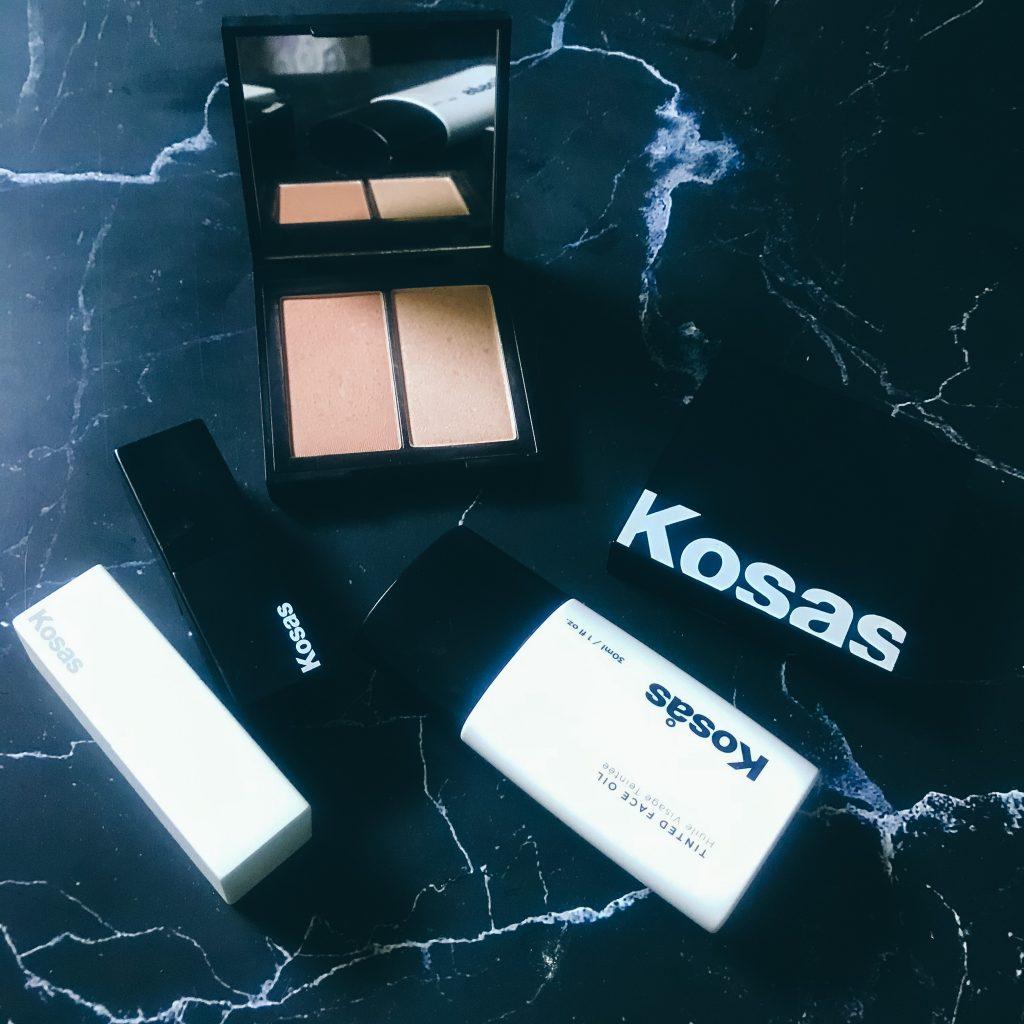 Kosas non-toxic foundation blush and lipsticks