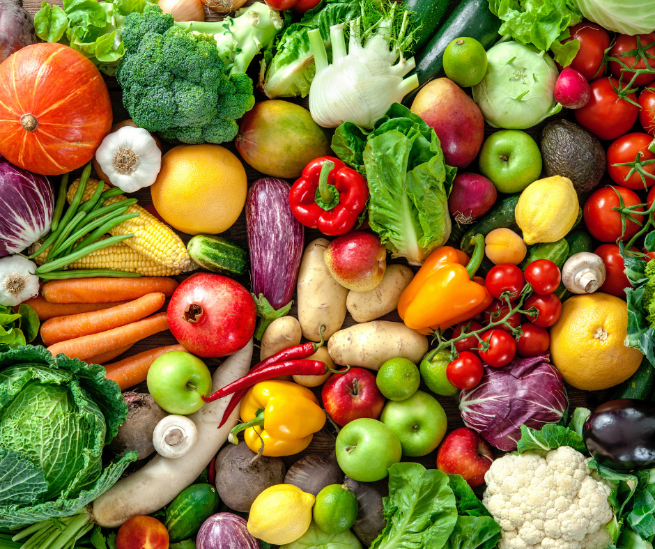 colorful veggies are part of anti-cancer diet