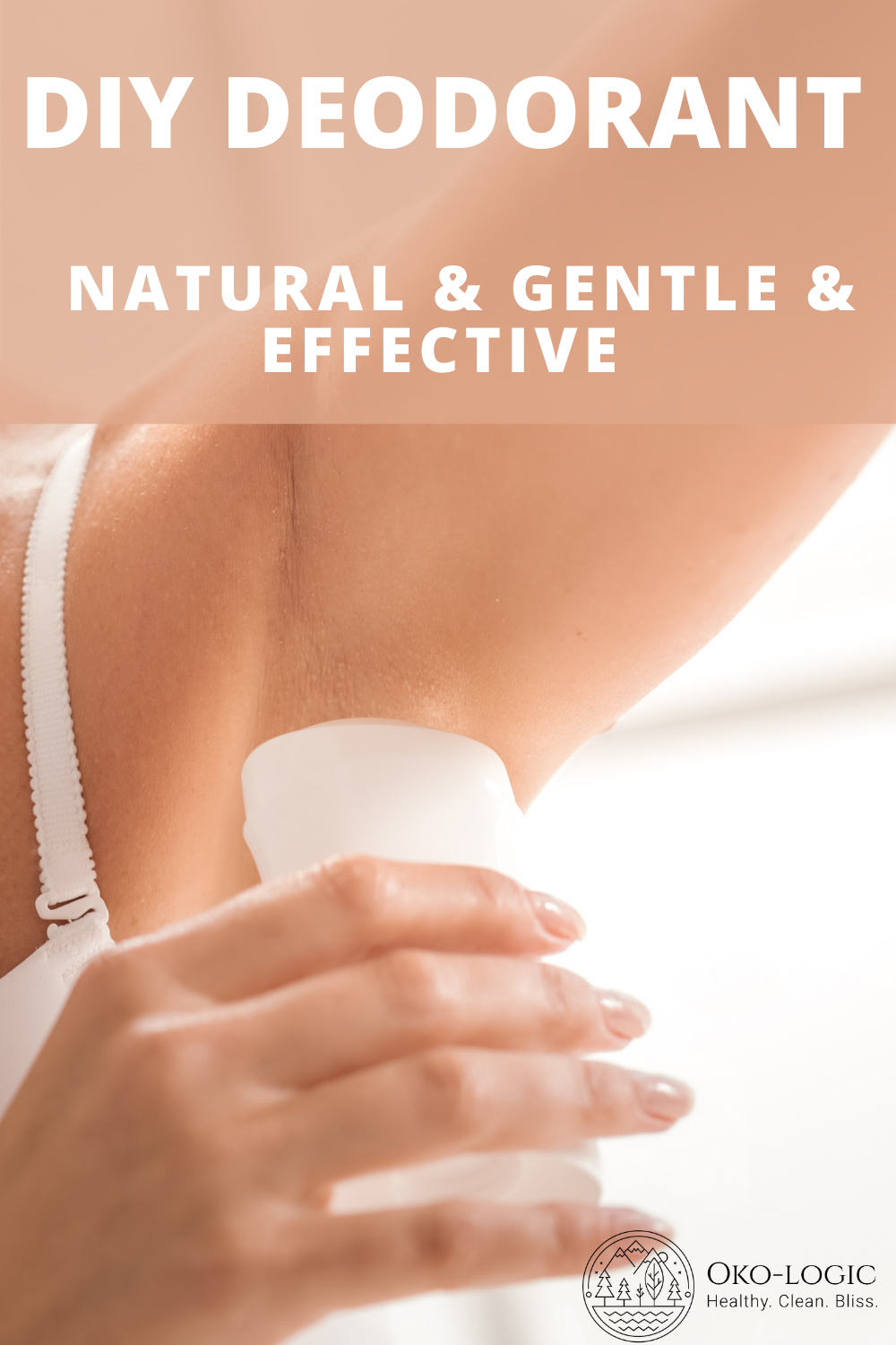 How a Homemade Deodorant with Bentonite Clay Keeps Your Armpits Dry and Healthy