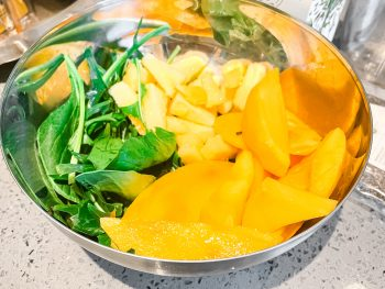 ingredients for a meal replacement smoothie