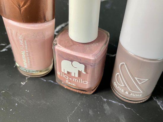 three brands of cruelty-free polish