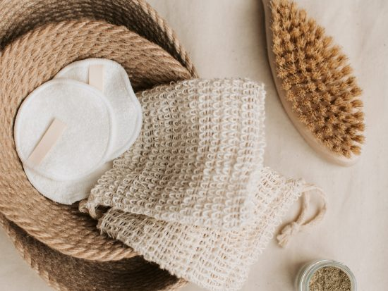 dry brushing to release environmental toxins